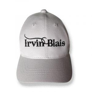 casquette blanche Irvin Blais