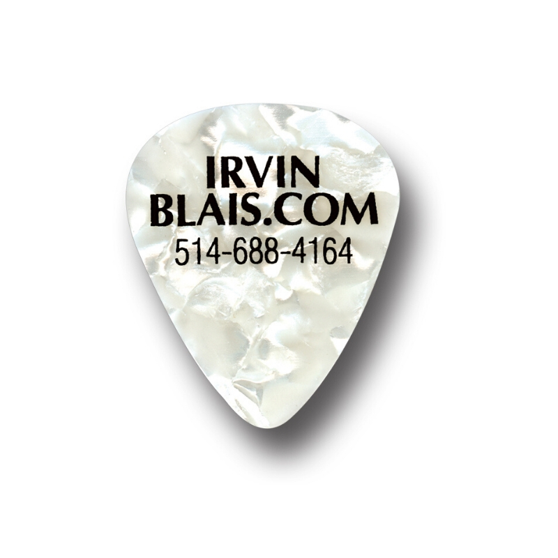 pic de guitare Irvin Blais
