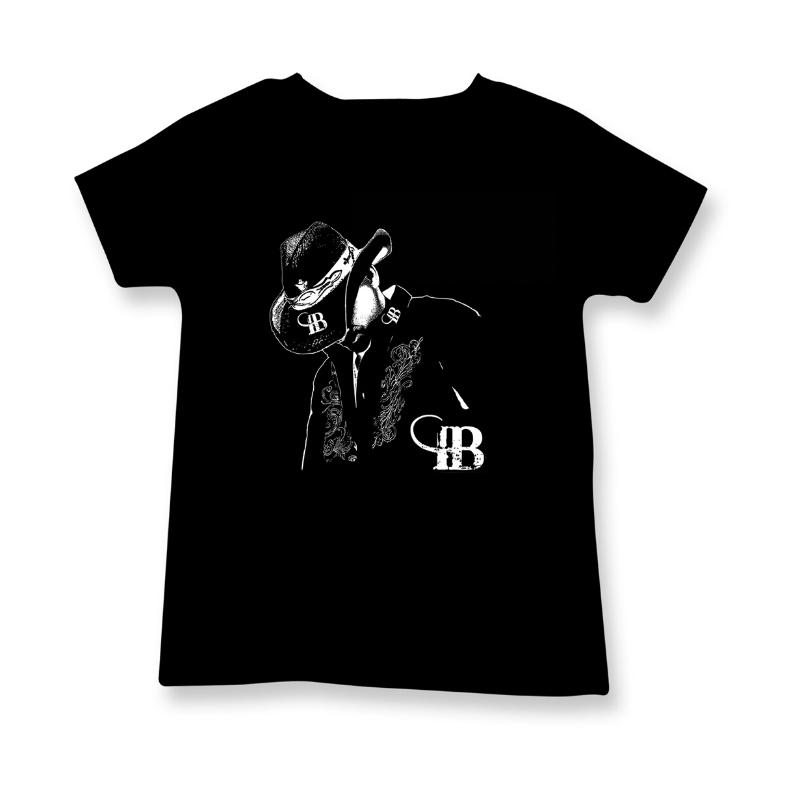 t-shirt noir Irvin Blais