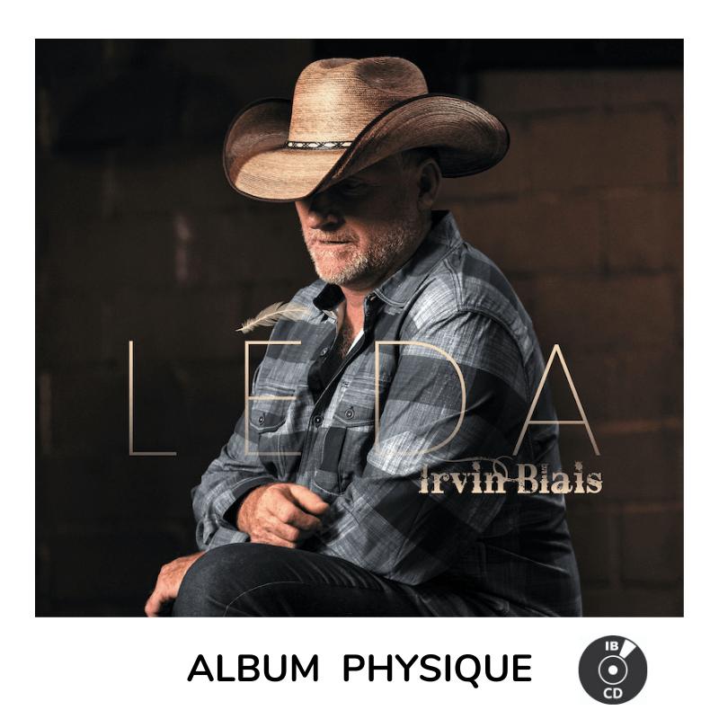 Irvin Blais album LÉDA cd